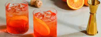 The Elderflower Aperol Spritz