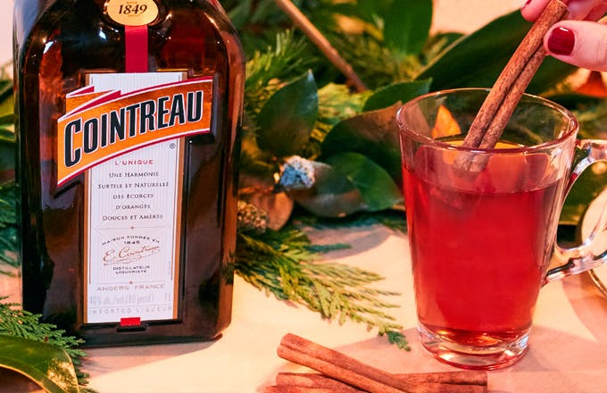 Hot Cointreau Mulled Cider