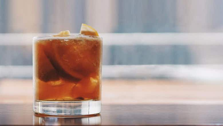 Cognac Caipirinha