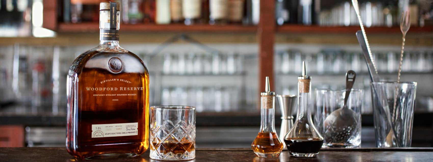 Woodford Reserve Neat