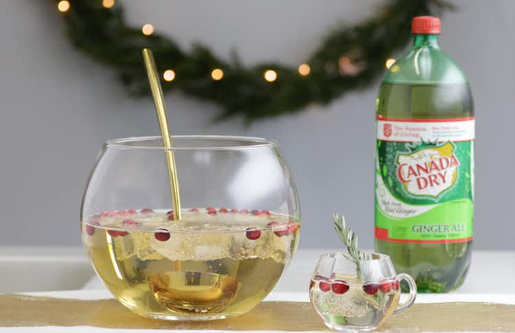 Canada Dry Champagne Punch