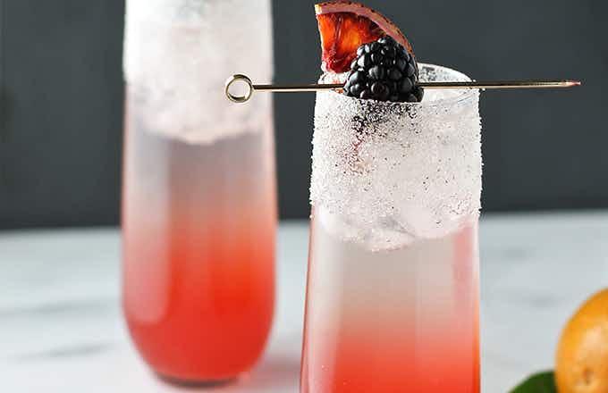 Blood Orange Scotch & Soda