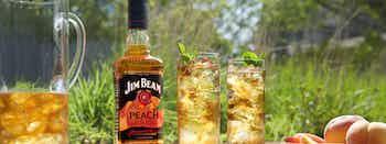 Jim Beam Peach Iced Tea