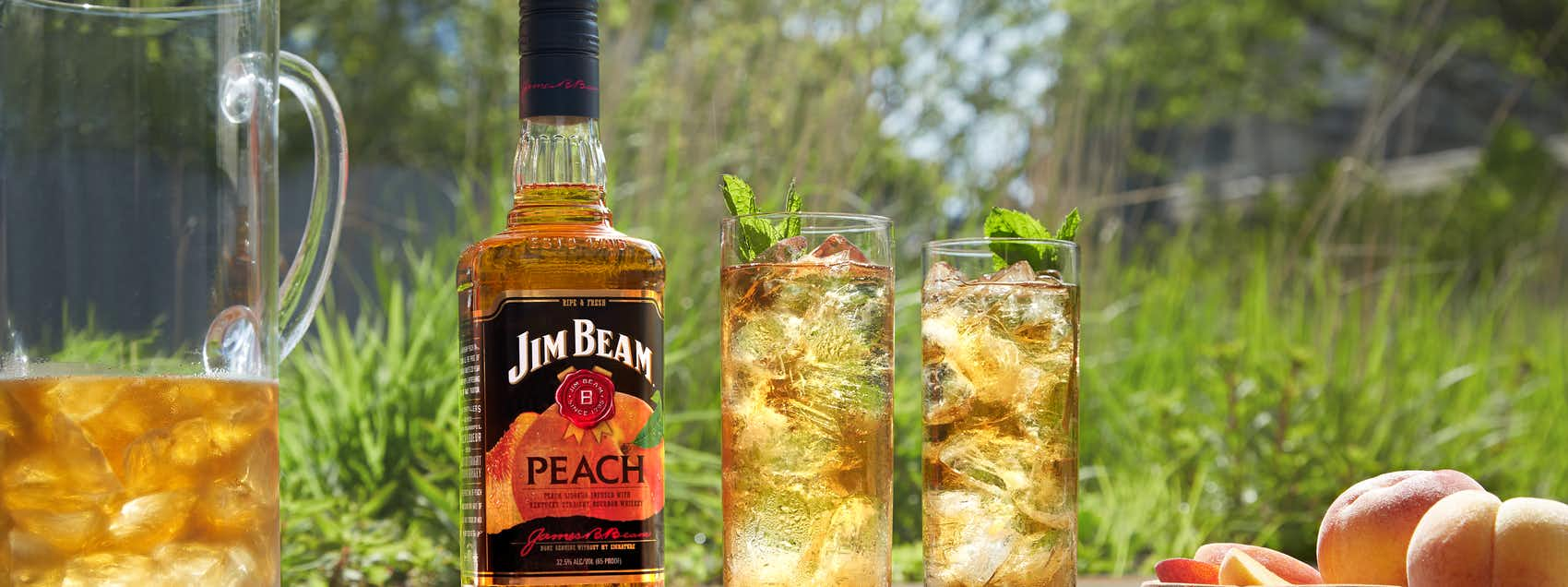 ​Jim Beam Peach Iced Tea