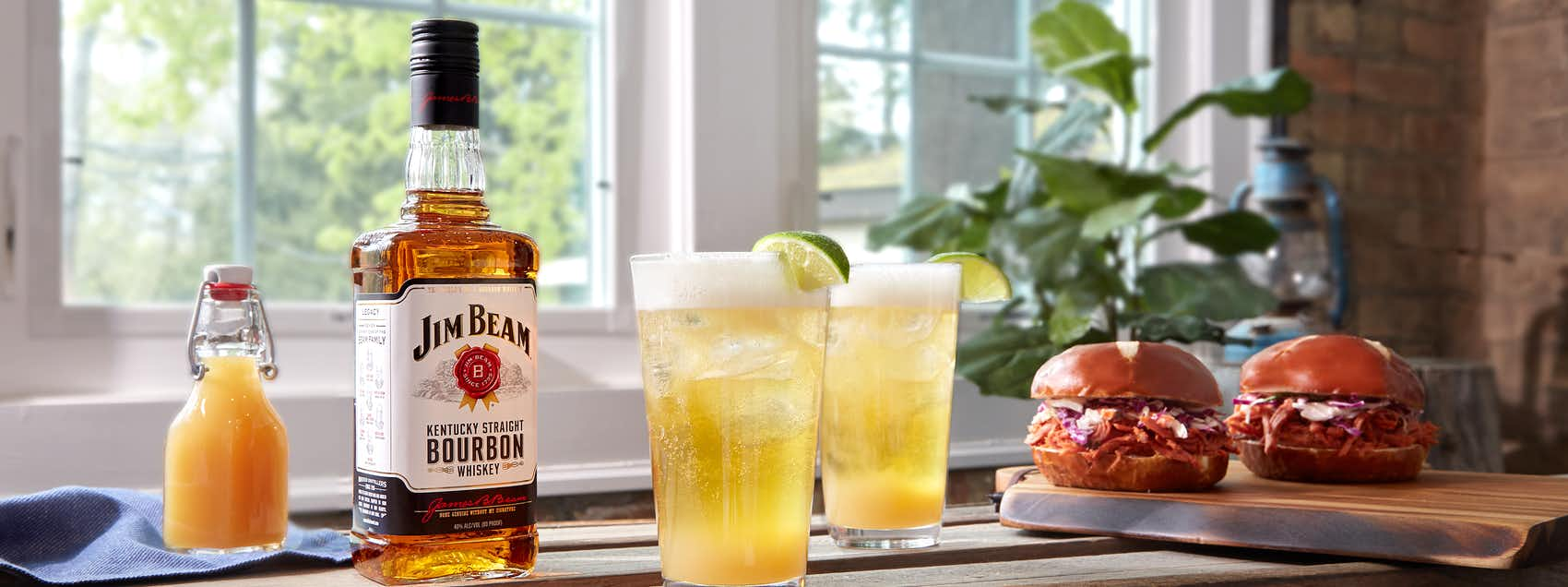 Jim Beam Ginger Shandy