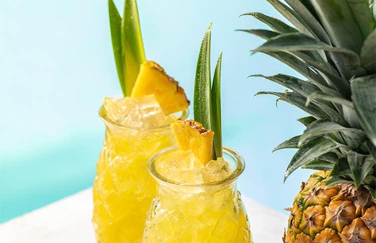 Malibu & Pineapple