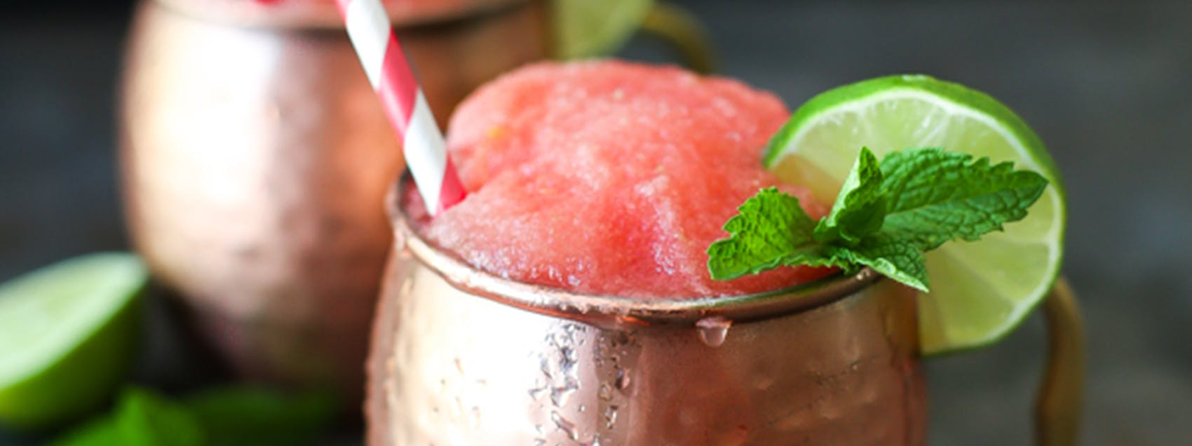 Frozen Watermelon Moscow Mule